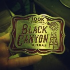 The hard earned finisher buckle.
